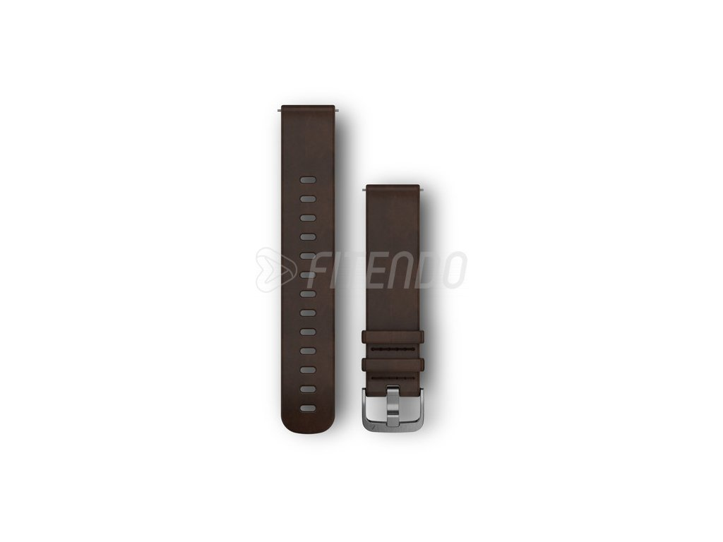 quick release 20 mm remienok dark brown kozeny l
