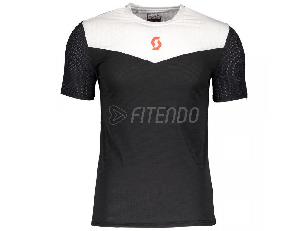01 Scott Shirt Men Kinabalu Run black white 270168