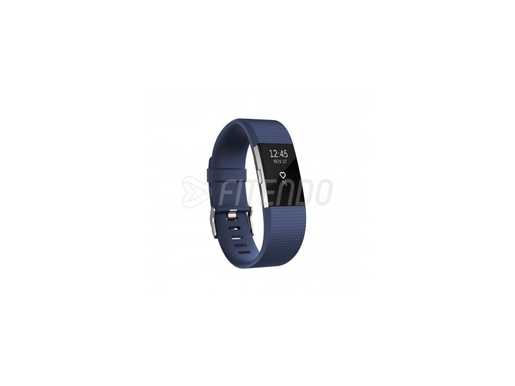Fitbit Charge 2 Blue Silver - Large  + Ochranná fólia na displej za 6€ zadarmo!