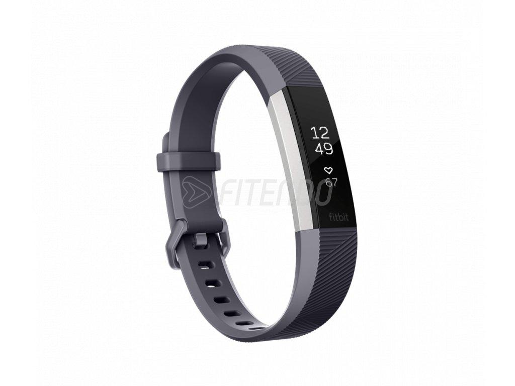 Fitbit Alta HR Blue Gray - Large