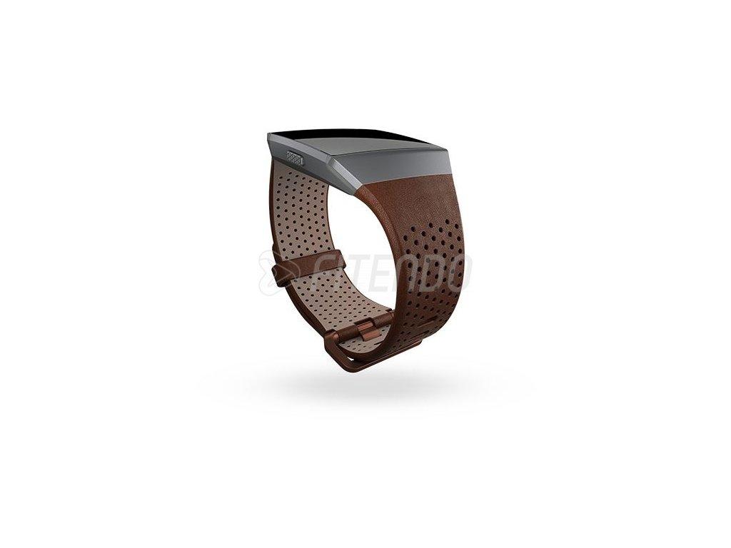 Fitbit Ionic kožený remienok Cognac - L