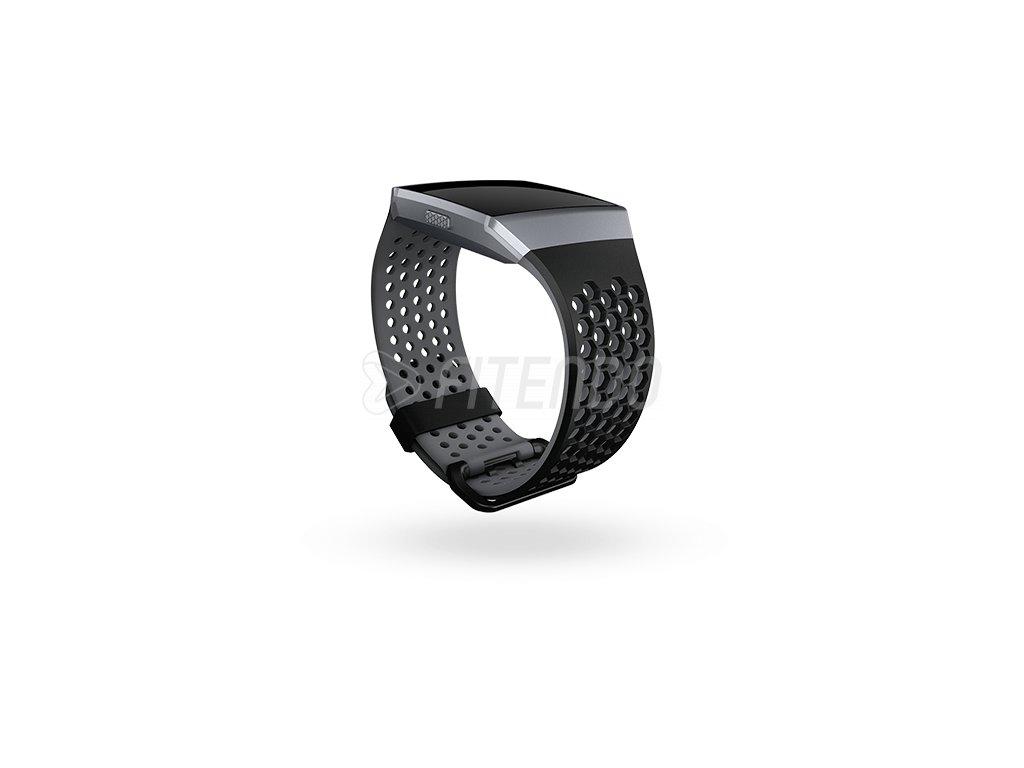 Fitbit Ionic športový remienok Black/Charcoal - S