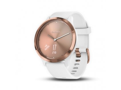 Garmin vívomove HR, Sport, Rose Gold-White, S/M