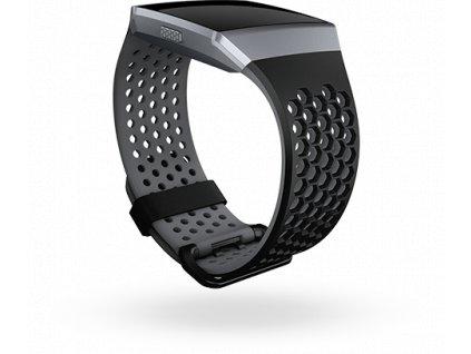 Fitbit Ionic športový remienok Black/Charcoal - L