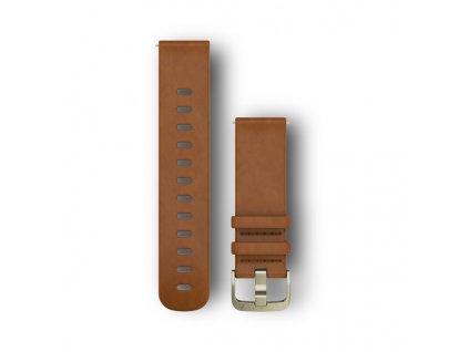 Garmin Vívoactive 3 remienok Brown, kožený (20mm)