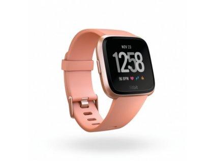 Fitbit Versa - Peach / Rose Gold Aluminum  + Ochranná fólia na displej v hodnote 6€ zadarmo!