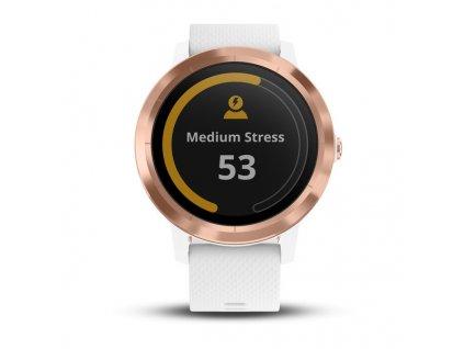 Garmin Vívoactive 3, White Silicone, Rose Gold  + Ochranná fólia na displej v hodnote 6€ zadarmo!
