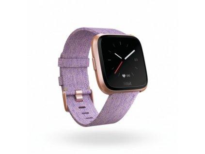 Fitbit Versa - Lavender Woven  + Ochranná fólia na displej v hodnote 6€ zadarmo!